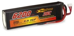 Desire Power 3S LiPo Battery 6200 mAh 35C