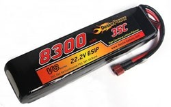 Desire Power 6S LiPo Battery 8300 mAh 35C