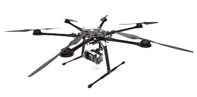 DJI S800 Spreading Wings HexaCopter