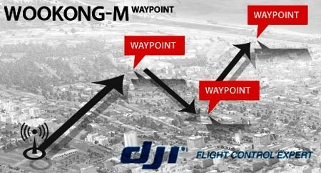 DJI WKM Multirotor 5 to 50 Way Point Upgrade