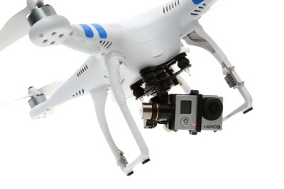 DJI Phantom 2 V2 Quadcopter With Zenmuse H3-3D Gimbal
