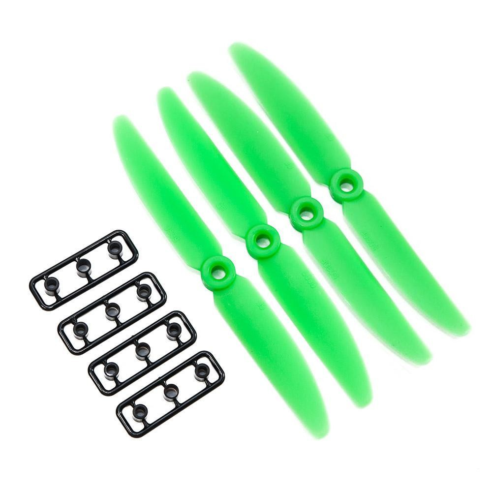 Gemfan 5x3 ABS Propeller Set of 4 Green