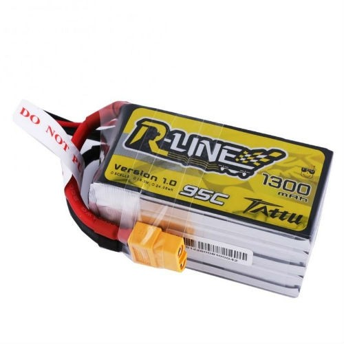 Tattu 5S 1300mAh 95C Lipo Battery
