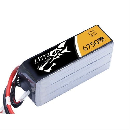 Tattu 6750mAh 4S 25C Lipo Battery