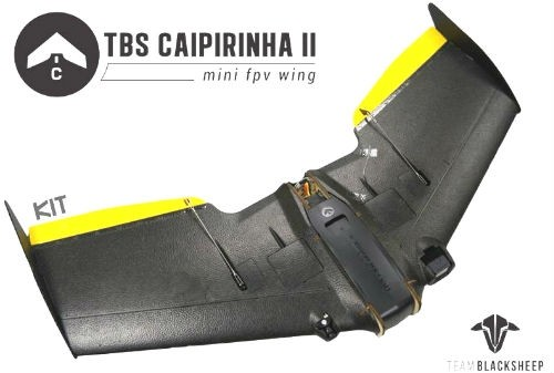 TBS Caipirinha 2 FPV Flying Wing Kit