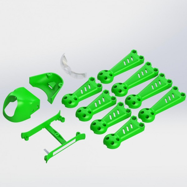 ImmersionRC Vortex 150 Mini Crash Kit 1 Green