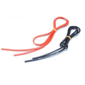 Silicone Wire 12 AWG 1M Red & Black