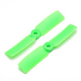 Bullnose Propellers 4x4.5 Green Nylon CW CCW