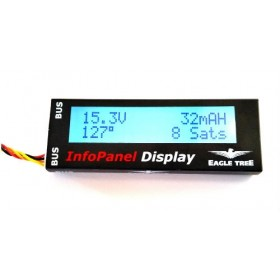 Eagle Tree Vector Info Panel LCD Display